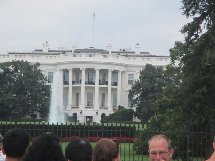 Backyard of the White House
