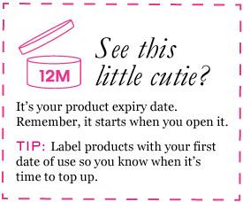 Fun Tip Friday: Makeup Expiration Date – Aroon Melane